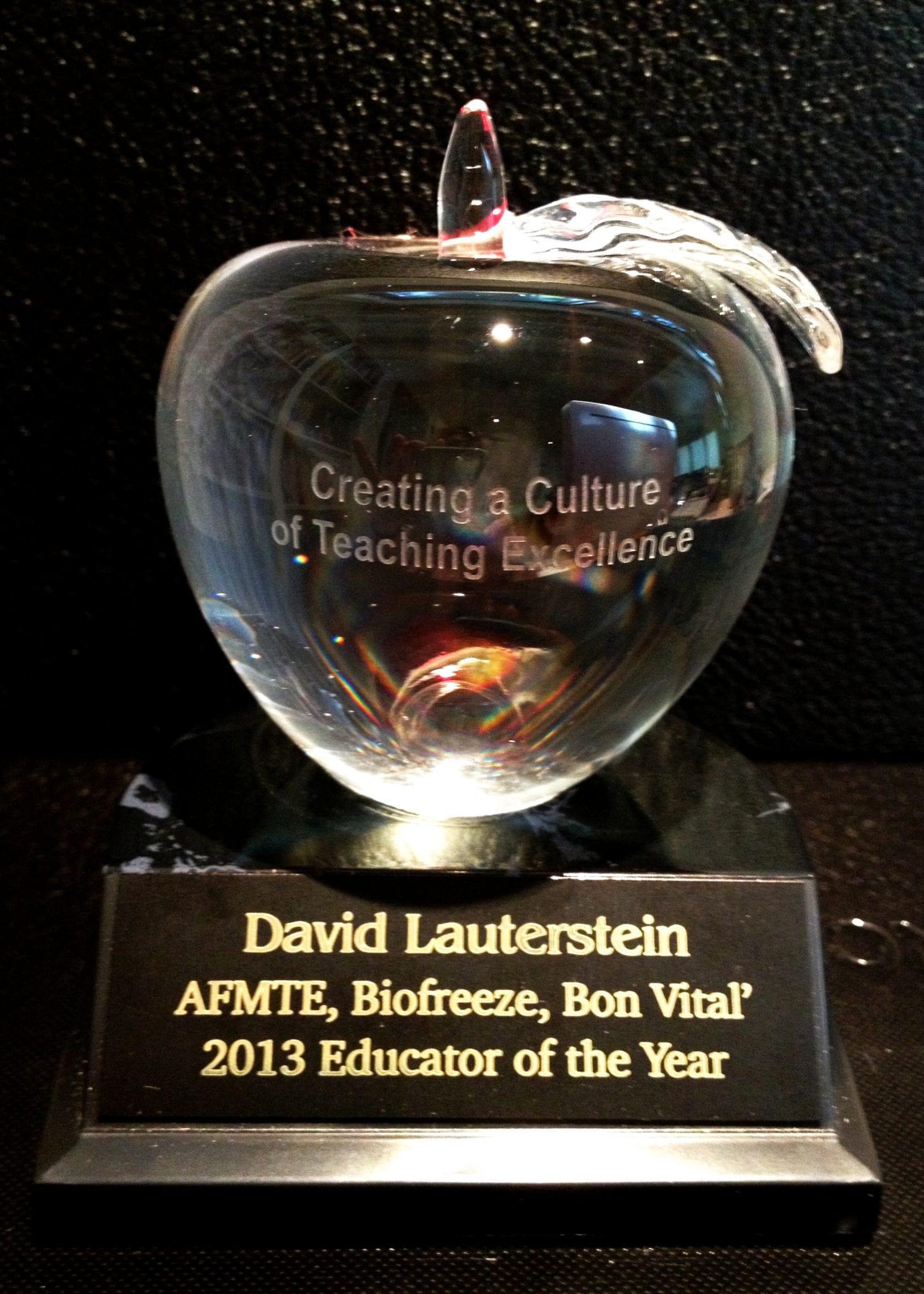 AFMTE award