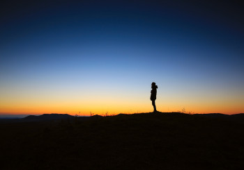 dawn-sunset-person-sunrise