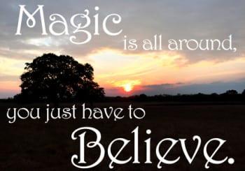 I See Magic Happen Everyday