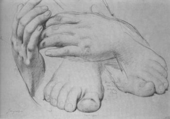 LOVE AND WORK – HANDS AND FEET