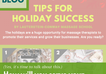 tips for massage therapists holiday success