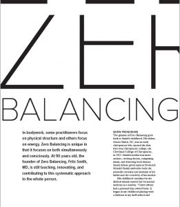 zero balancing article